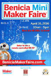 Benicia Mini Maker Faire 2106 Postcard