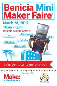 Benicia Mini Maker Faire Postcard