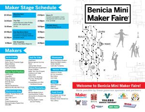 Benicia MMF Program 2016-thumb